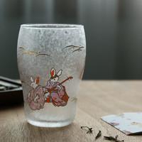 ADERIA 阿德利亚 6775 吉祥图腾玻璃杯 兔 255ml