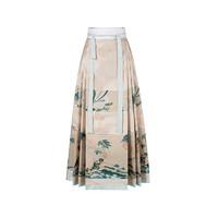 十三余 汉服 绿珠清影 女士马面裙 SHF111257