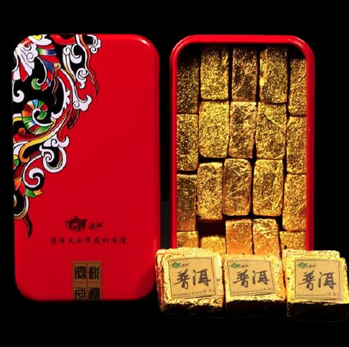 dianxiang 滇湘 小金砖 普洱茶 500g