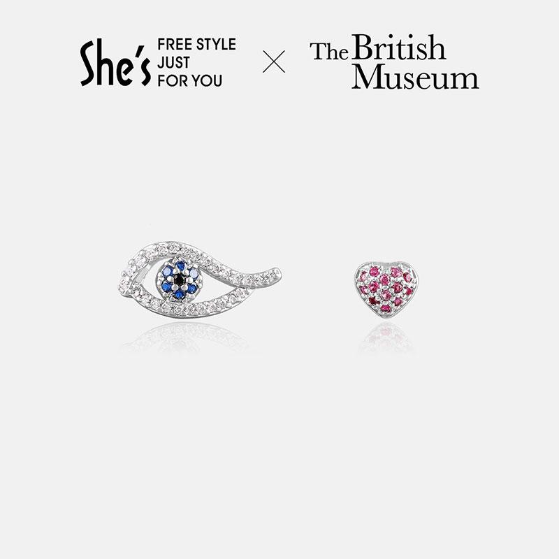 5日0点 : She's 茜子 大英博物馆系列 荷鲁斯之眼耳钉