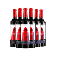 TORRE ORIA 西班牙进口红酒 奥兰Torre Oria 小红帽干红葡萄酒750ml*6瓶 整箱装