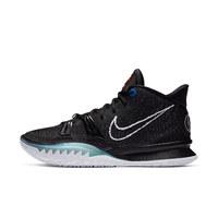 NIKE 耐克 Kyrie 7 Ep 男子籃球鞋 CQ9327-002 黑/灰黑/椒紅/白色 47.5