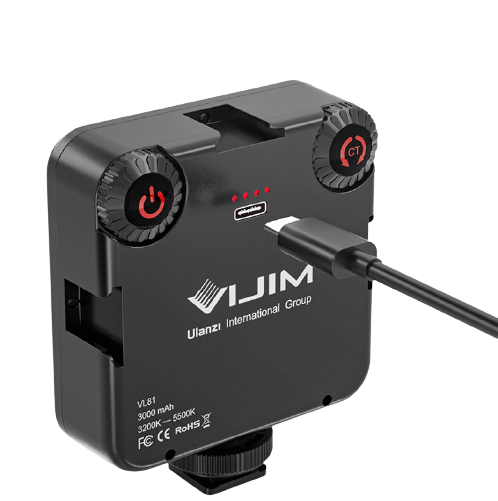 UURig VL81 vlog專屬補光燈