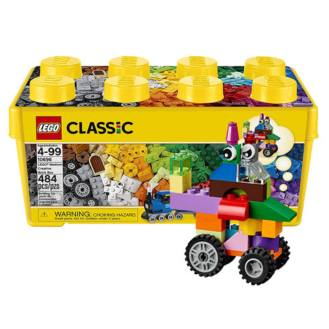 女神超惠买、88VIP:LEGO 乐高 CLASSIC 经典创意系列 10696 中号积木盒
