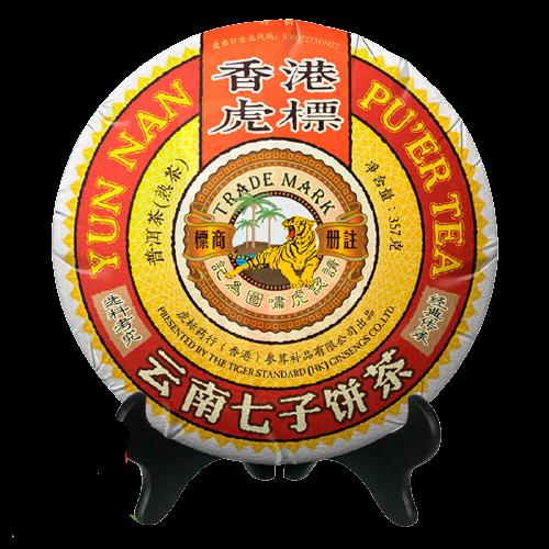 TIGER BALM 虎标  经典普洱茶盒装 357g