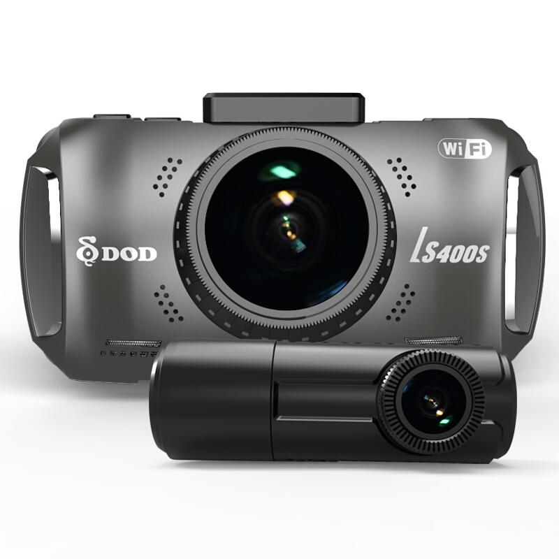 DOD 迪欧迪  LS400S 行车记录仪 双镜头