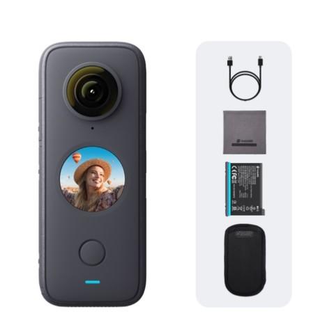 Insta360  ONE X2 摩托车套装礼盒 口袋全景运动相机 裸机防水