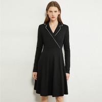 AMII 120203280100 女士收腰西装连衣裙