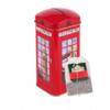 AHMAD 亚曼 电话亭钱罐 英式早餐红茶 2g*20包