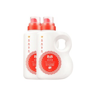 B&B 保宁 婴儿洗衣液 1500ml*2瓶