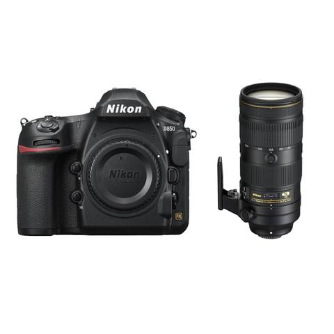 Nikon 尼康 D系列 D850 全画幅 单反相机 单镜头套机 黑色 (AF-S 70-200mm F2.8E FL ED VR 防抖镜头)