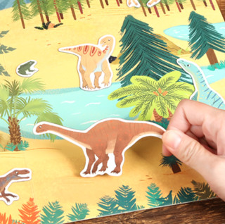 KTYEAH 儿童卡通磁力贴纸书