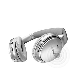 BOSE 博士 qc35 头戴式耳罩式蓝牙耳机 银色