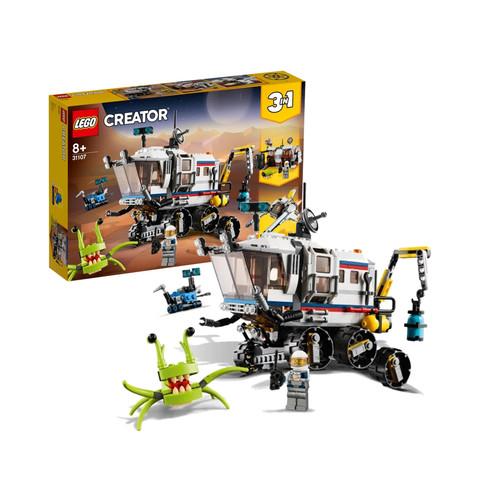 女神超惠买、88VIP:LEGO 乐高 创意百变组系列 31107 太空探测车