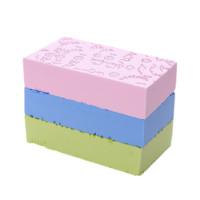 映源 497-9-828 搓澡海棉 2个装 蓝色+粉色