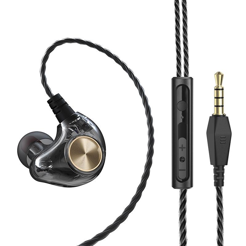 GARINEMAX 22 有线耳机 黑色