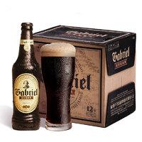 千島湖啤酒(CHEERDAY)加布里黑啤 418ml *12瓶 整箱装