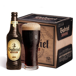 CHEERDAY 千岛湖啤酒 加布里黑啤 418ml*12瓶