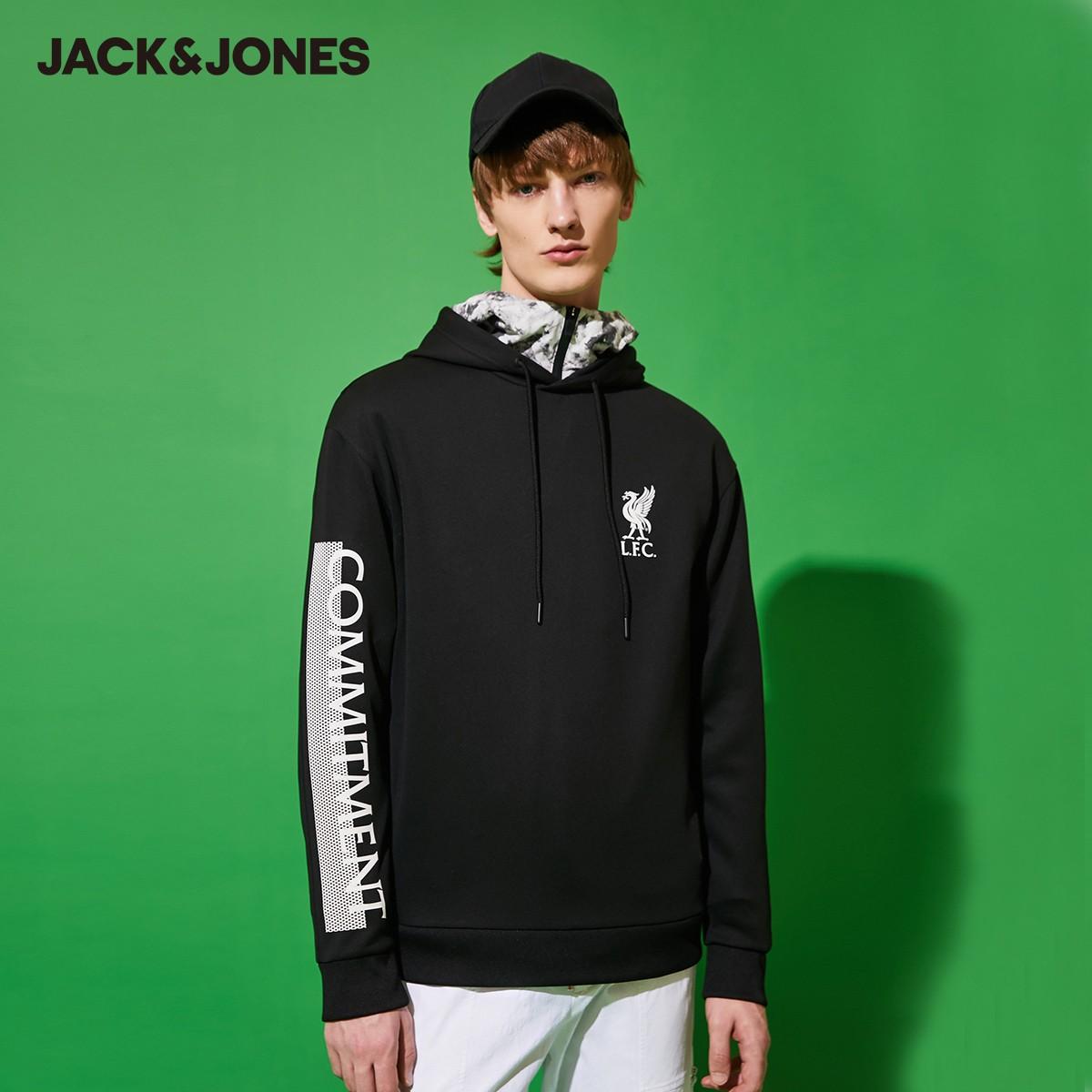 Jack Jones 杰克琼斯 220133549 男款利物浦球队联名卫衣