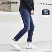 女神超惠买、值友专享:Jack Jones 杰克琼斯 220132527 男士弹力小脚牛仔裤