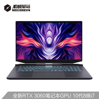 MECHREVO 机械革命 钛钽PLUS 17.3英寸游戏笔记本电脑 (i7-10875H、16G、512G、RTX3060、144Hz)