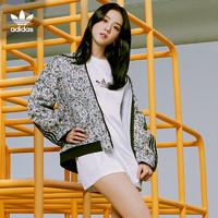 5日0点:adidas 阿迪达斯 三叶草 BLACKPINK同款 GN3029 女款运动茄克外套