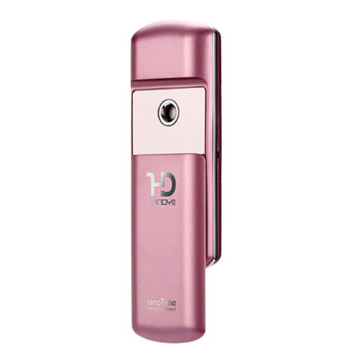 nanoTime 娜蜜絲 F72 噴霧補水儀 淺粉色