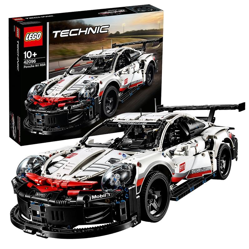 女神超惠买、88VIP : LEGO 乐高 Technic科技系列 42096 保时捷 911 RSR赛车