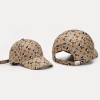 迪士尼米奇米妮儿童帽子男女鸭舌帽(一件)