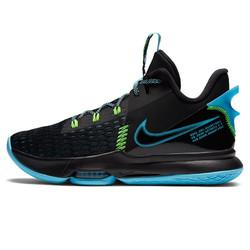 耐克NIKE 男子 篮球鞋 詹姆斯 实战 LEBRON WITNESS 5 EP 运动鞋 CQ9381-004黑色42码