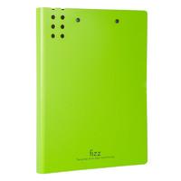 京东PLUS会员:fizz 飞兹 A2388 高质感A4长押夹文件夹 带板夹 绿色 *3件