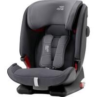 宝得适(BRITAX)德国进口儿童安全座椅 百变骑士四代 isofix接口9个月-12岁 风暴灰