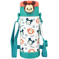 Disney 迪士尼 婴儿童水杯 316不锈钢保温杯 带杯绳 380ML *3件