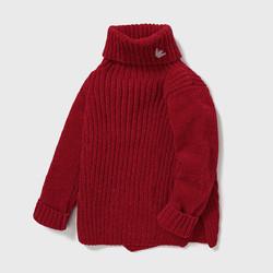 ABCKIDS 女童高领毛衣