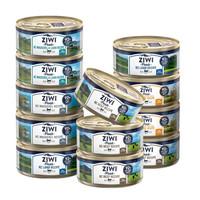 京东PLUS会员:ZZIWI 滋益巅峰 猫罐头 混合口味 85g*12罐