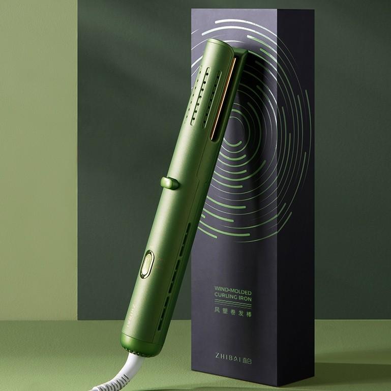 22点截止、5日预售 : zhibai 直白 VL6 卷发棒 绿色