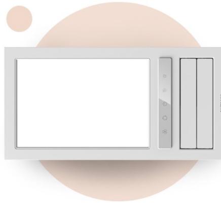预售、女神超惠买:AUPU 奥普 S112 五合一智能触控风暖浴霸