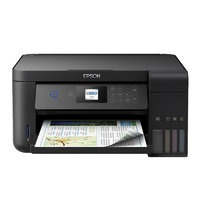 EPSON 爱普生 L4168 墨仓式 彩色无线打印一体机 深邃黑