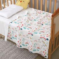 X-MUM 婴儿纯棉6层纱布浴巾105*105cm