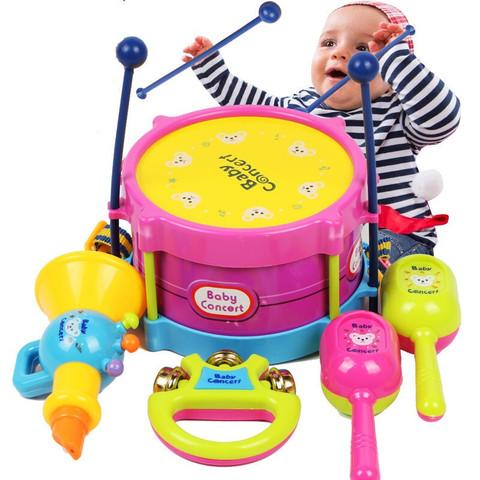 移动端:ZHIHUIYU 智慧鱼 儿童拍拍鼓 乐器7件套