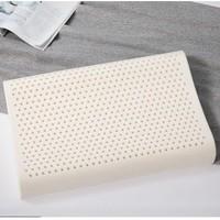 MERCURY 水星家纺 泰国天然物理阻螨乳胶枕 2支装 40*60*8/10cm