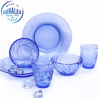 DURALEX 多莱斯 法国进口钢化玻璃餐具 6件套