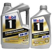 5日0点截止:Mobil 美孚 1号 长效 EP 5W-30 SN 全合成机油 5Qt +1Qt