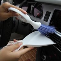 汽车出风口刷子 天使刷 车用缝隙刷 仪表台毛刷 车用清洁 空调刷 天使刷