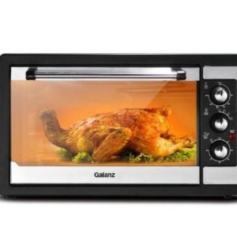 聚划算百亿补贴:Galanz 格兰仕 KWS1538J-F5N 全自动电烤箱 黑色 38L