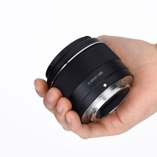 永诺50mm F1.8 DSM 索尼E口APS-C画幅微单大光圈自动对焦人像镜头