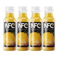農夫山泉 NFC果汁(冷藏型)100%鮮榨橙汁 300ml*4瓶 *3件