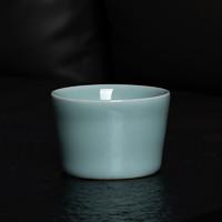 熹谷 龙泉青瓷 手工粉青釉茶杯 *5件
