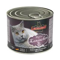 LEONARDO 无谷兔肉配方 成猫罐头 200g *10件