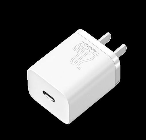 BASEUS 倍思 CCCJGCC Lightning 手机充电线充套装 白色 20W